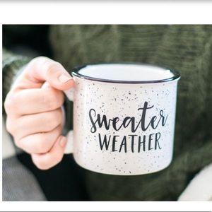 Sweater Weather CampfireStyle Stoneware Coffee Mug
